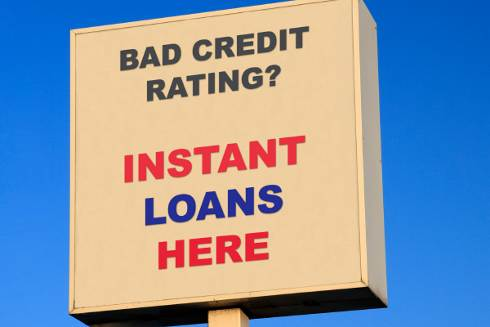 Have a bad credit- think before you choose payday loans